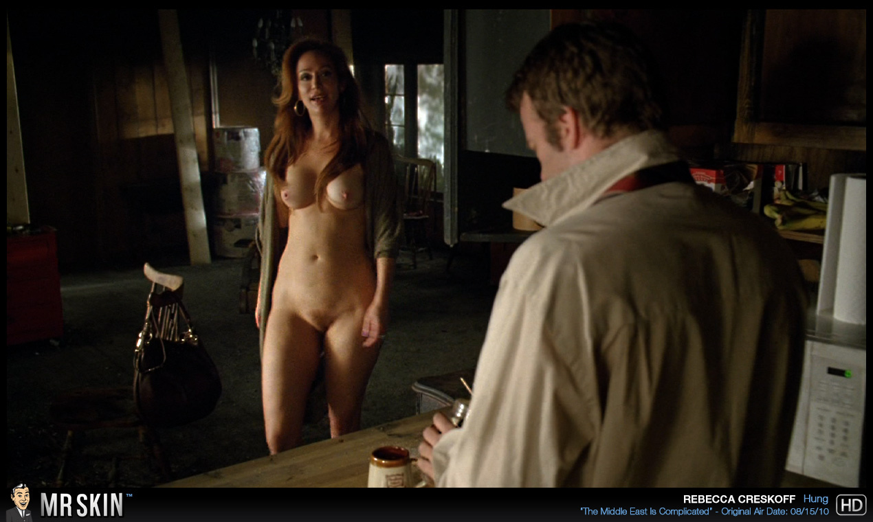 kim raver caught naked having sex