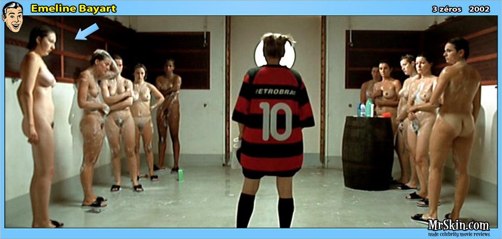 Wet in naked women